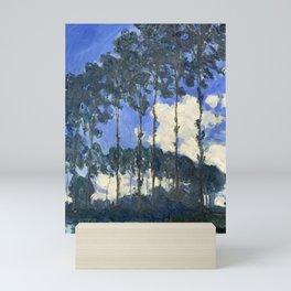 Claude Monet - Poplars on the Epte Mini Art Print