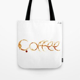 Coffe colors fashion Jacob's Paris Tote Bag