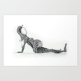 Zen Bump Art Print