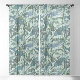 Narwhals Sheer Curtain