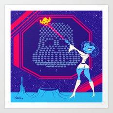 Star Invaders Art Print