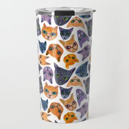 Cats Allover Travel Mug