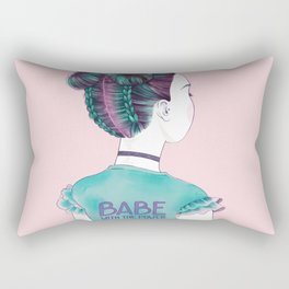 babe Rectangular Pillow
