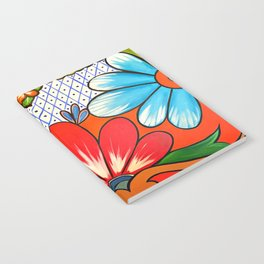 Talavera Tile Notebook