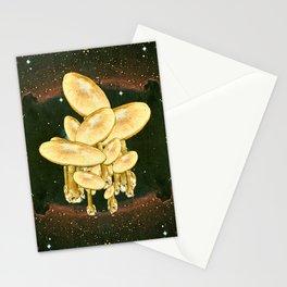 Floating fungi Stationery Cards