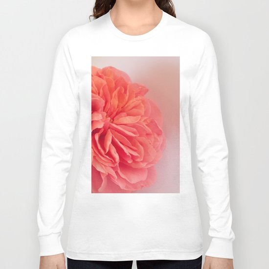 A Touch of Love - Pink Rose #2 #art #society6 Long Sleeve T-shirt