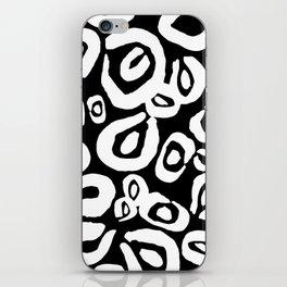 LEOPARD! (black) iPhone Skin