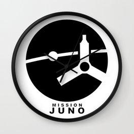 Juno Ops (Orbital Insertion) Team Logo Wall Clock