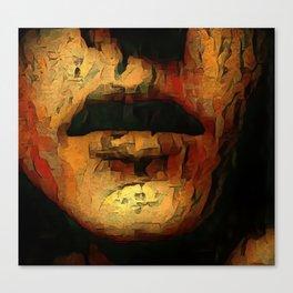 Earthen Lips Canvas Print