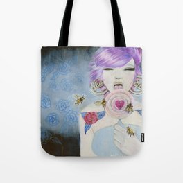 Pain and Love Tote Bag