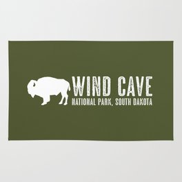 Bison: Wind Cave, South Dakota Rug