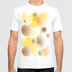 colors Mens Fitted Tee White MEDIUM