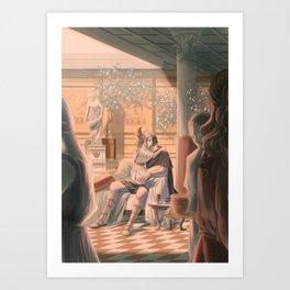 Reylo - Glory's Fray Art Print