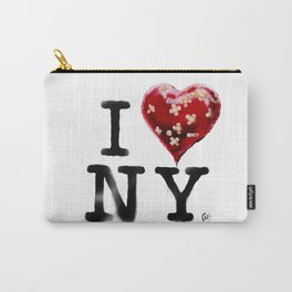 Banksy * I Love New York Carry-All Pouch