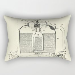 Fire Extinguisher-1897 Rectangular Pillow