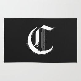 Letter C Rug