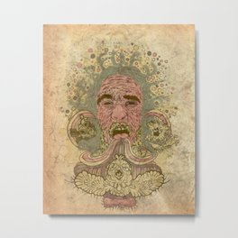 Kerfuffle Metal Print