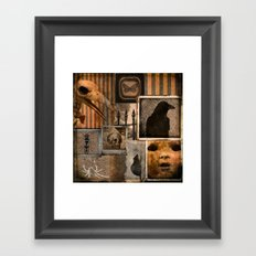 Gothic Menagerie Framed Art Print