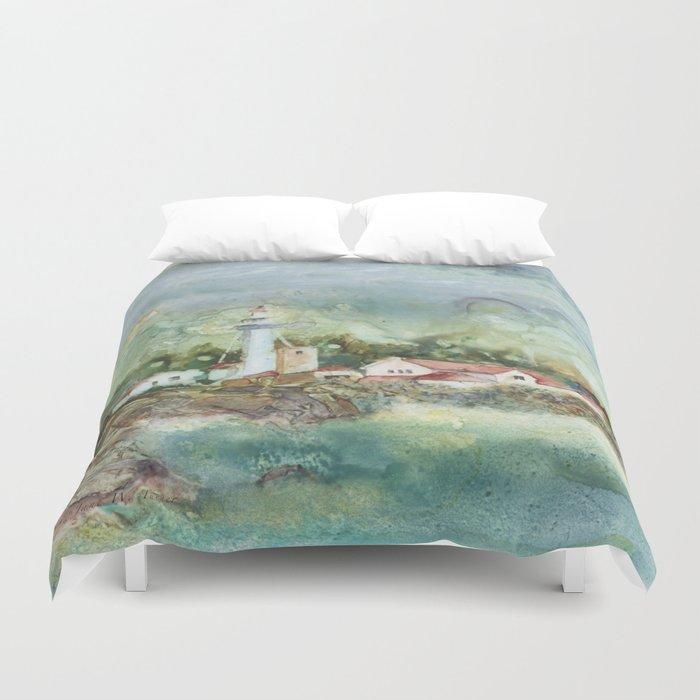 Whitefish Point Duvet Cover