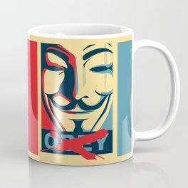 DISOBEY Coffee Mug