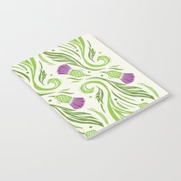 Thistles - Color PAttern Notebook