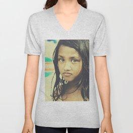 Dhaka Girl Unisex V-Neck