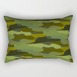 Khaki camouflage Rectangular Pillow