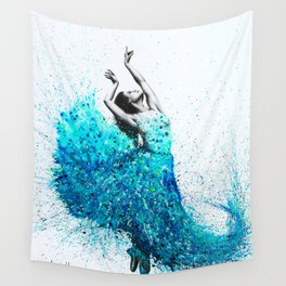 Tropical Reef Dance Wall Tapestry