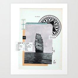 Foxtrot ••—• Art Print
