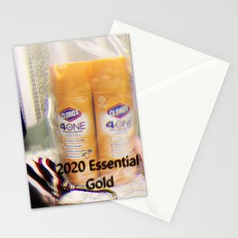 Golden Essentials of 2020 Stationery Cards