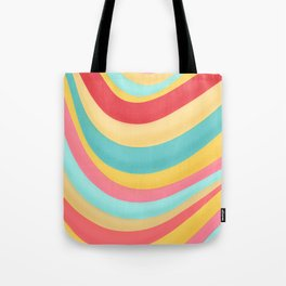 Candy Curves Tote Bag