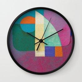Una Regata Colorata Wall Clock