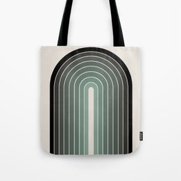 Gradient Arch - Green Tones Tote Bag