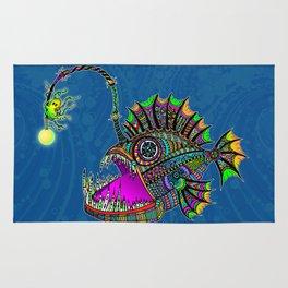 Electric Angler Fish Rug