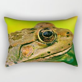 Frog's Eye Rectangular Pillow