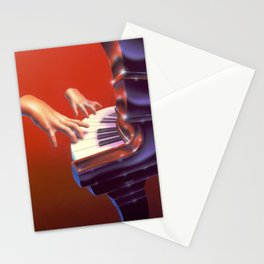 Piano Lessons Can Be Murder Stationery Cards