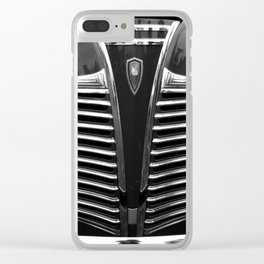 Red Grill Clear iPhone Case