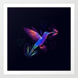 Colibri's World Art Print