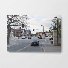 Dinkytown at Dusk Metal Print