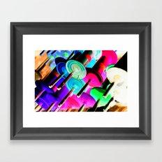 Randomize Framed Art Print