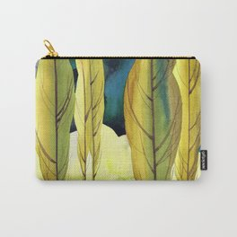 Landscape with poplar trees Carry-All Pouch