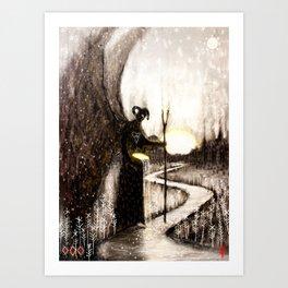 Hæling Forescýwa (Healing Shadow) Art Print