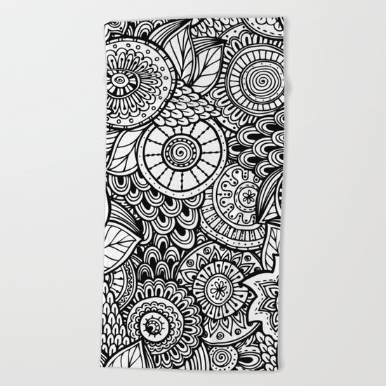 Kalakusar v2 #society6 Beach Towel