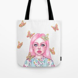 Little butterfly doll Tote Bag