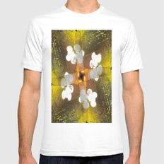 Feng Shui White MEDIUM Mens Fitted Tee