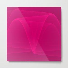 Abstract #4 (Fuchsia/DarkMagenta) Metal Print