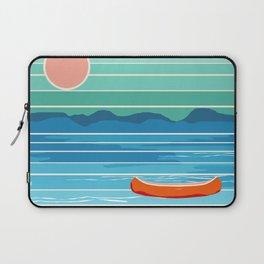 Minnesota travel poster retro vibes 1970's style throwback retro art state usa prints Laptop Sleeve