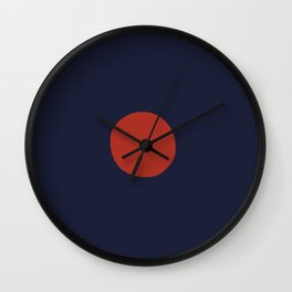 Sun Down Wall Clock