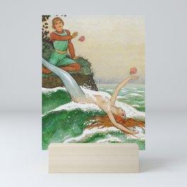 Mirror of the Seamaiden By Rudolf Koivu Mini Art Print