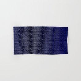 Binary Blue Hand & Bath Towel